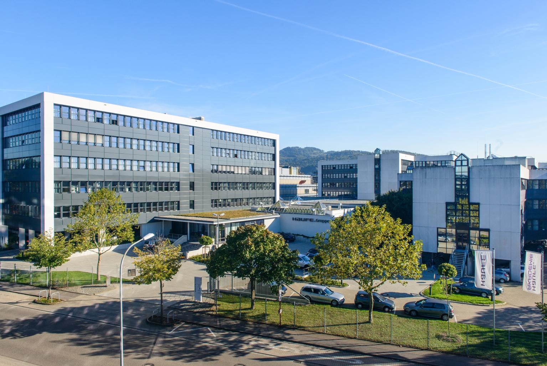 Das Verlagsgebäude der Haufe Group in Freiburg. Foto: Haufe.