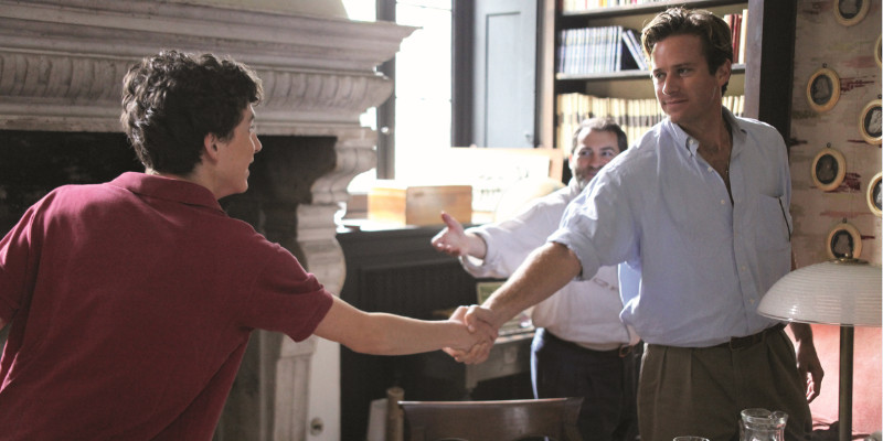 »Call Me by Your Name« kommt in die Kinos