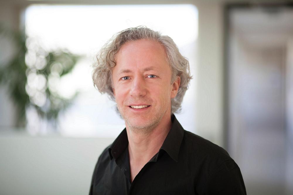 Blockchain- und Medienspezialist Steffen Holly. Foto: Fraunhofer IDMT.
