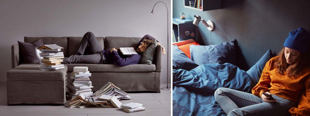 Verdrängung Im Bücherregal Ikea Inszeniert Wohnen Mit Wenig Buch