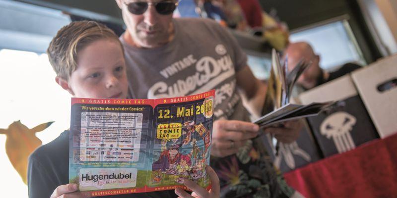 Themen im Mai: Digitale Vorschauen, kostenlose Comics und ein geplatzter Börsengang