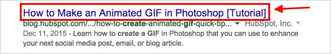 Abb.4: Seitentitel in der Google-Suche.