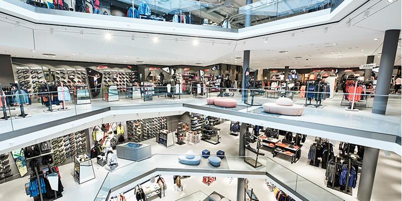 Einladende Einkaufserlebnisstätten