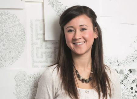 Johanna Basford legt neues Ausmalbuch vor