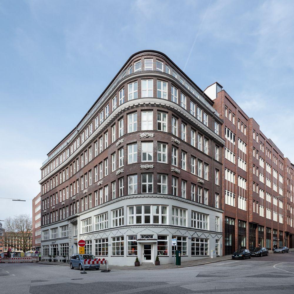 Der Murmann Verlag in Hamburg. Foto: Axel Hartmann.
