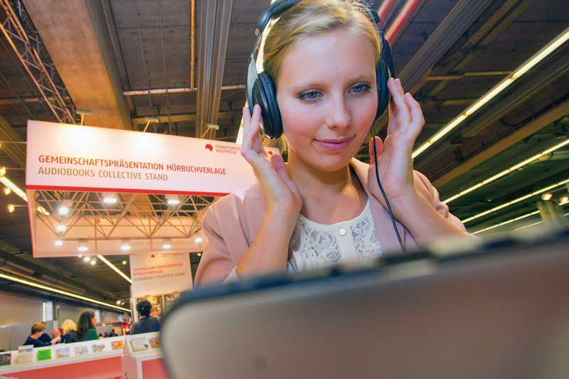 Frankfurter Buchmesse organisiert Hörbuch-Bereich neu