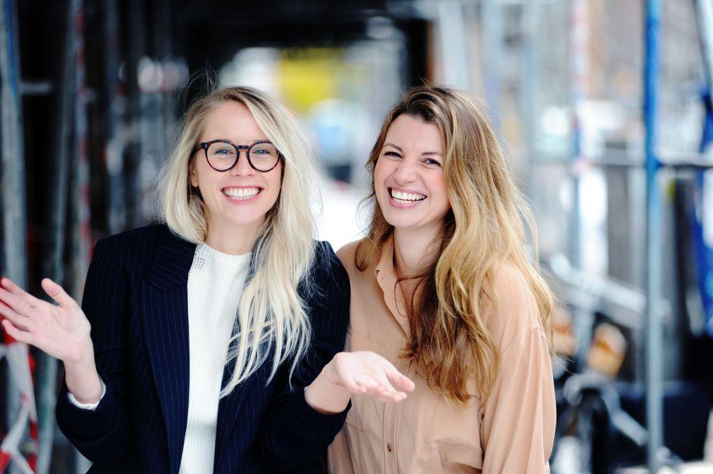 Nora-Vanessa Wohlert und Susann Hoffmann, Edition F. Foto: Jennifer Fey.