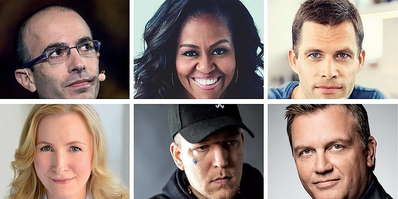 Die Top-Autoren auf der Sachbuch-Welle