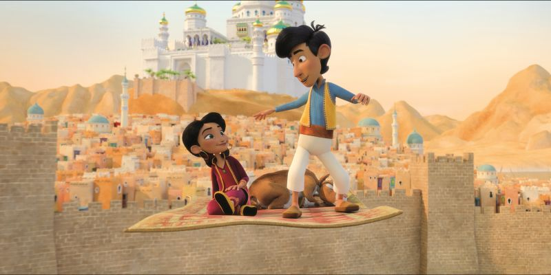 »Kleiner Aladin und der Zauberteppich« kommt in die Kinos