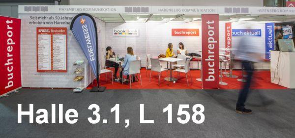 Besuchen Sie uns auf der Frankfurter Buchmesse: Halle 3.1, L 158