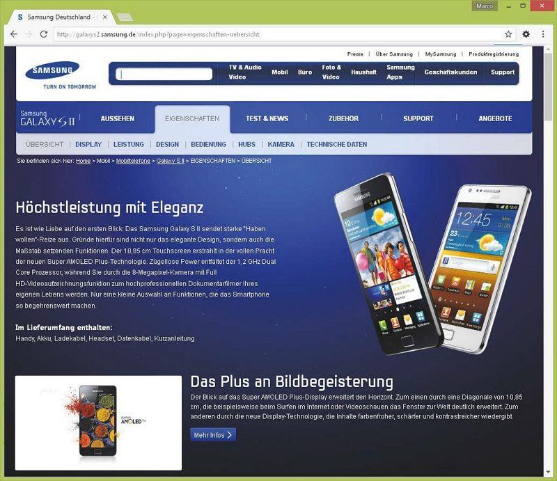 Abb. 4: Informative Produktdetail-Seite – aber wo kann man bestellen?