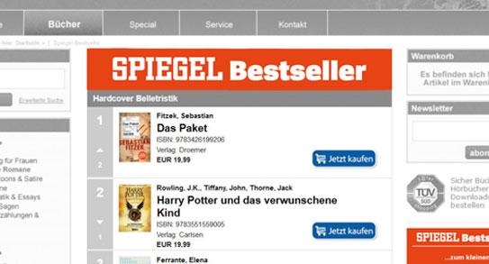Bestseller-Widget