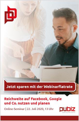 pubiz Online-Seminar: Mediaplanung