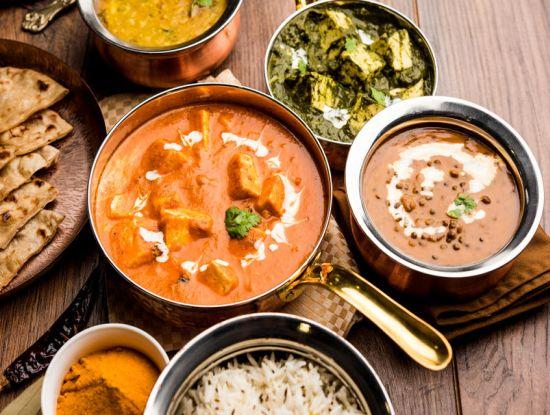 Essen aus fernen Ländern