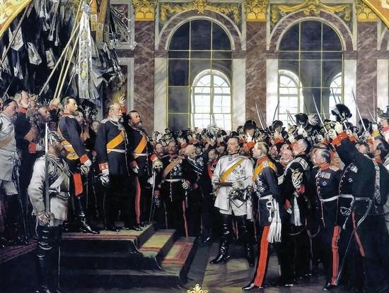 Proklamation des Kaiserreichs (Foto: Museen-Nord, Bismarck-Museum)