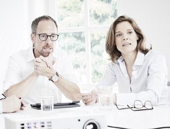 Markus Wilhelm und Anja Paquin. Foto: PublisherConsultants