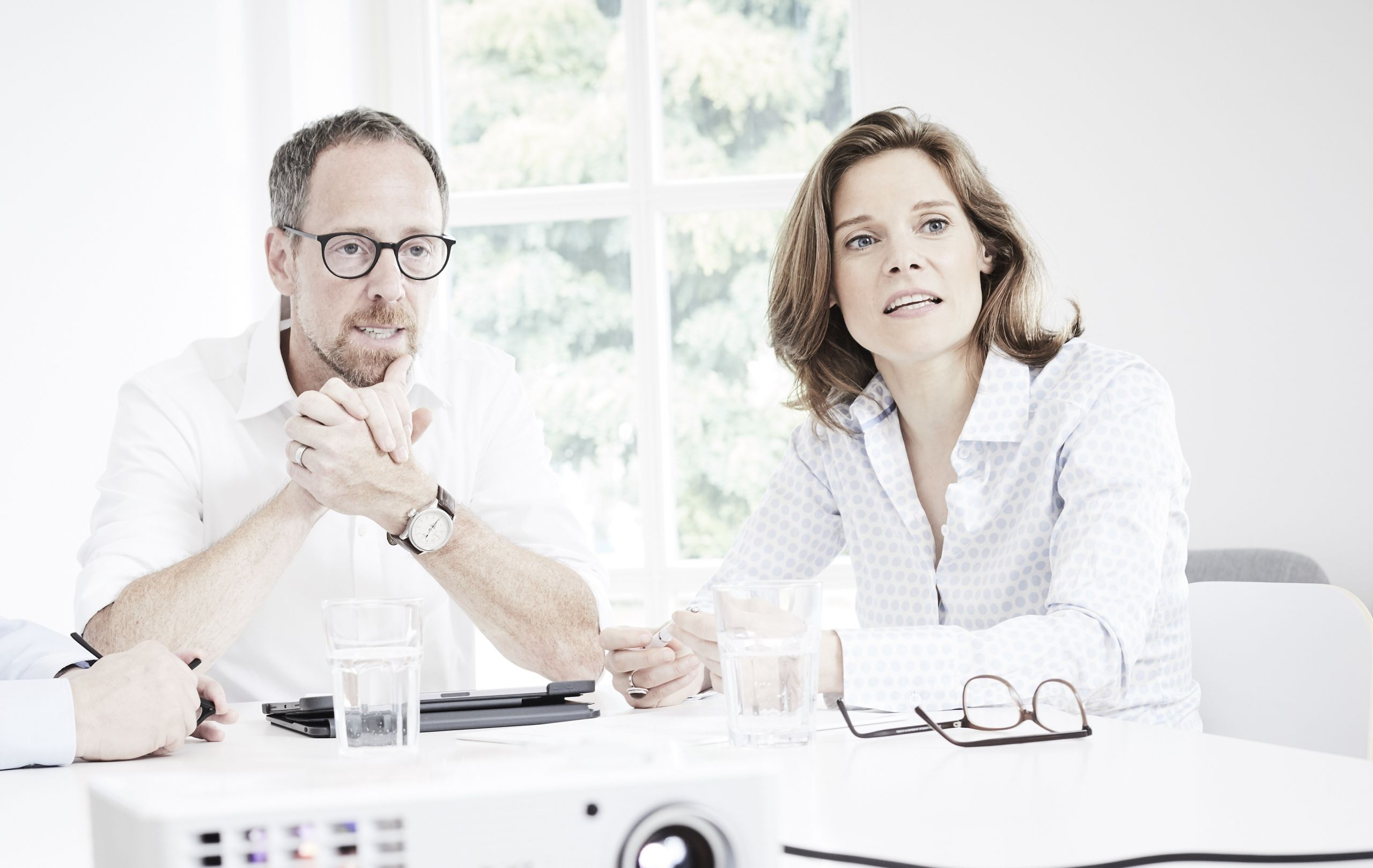 Markus Wilhelm und Anja Paquin. Foto: Publisher Consultants