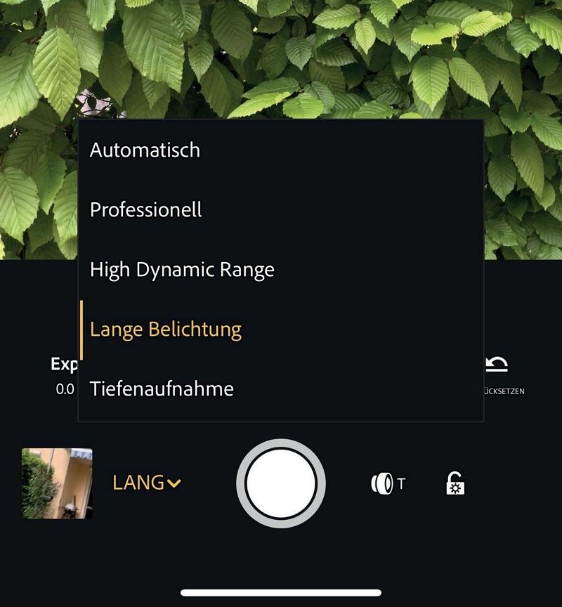 Verwacklungsfreie Langzeitbelichtungen mit der Lightroom CC-App ...