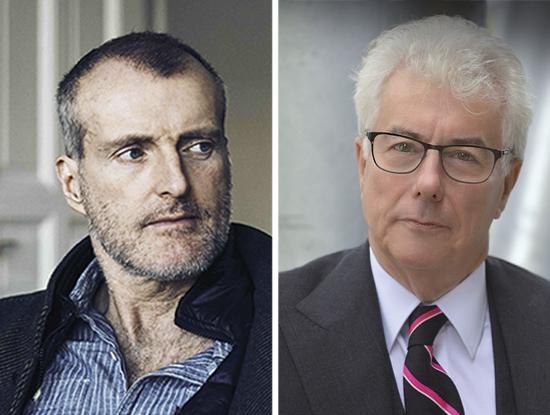 Die neuen Romane von Robert Seethaler (l.) und Ken Follett sind die Favoriten der Buchhändler im Herbst 2020.