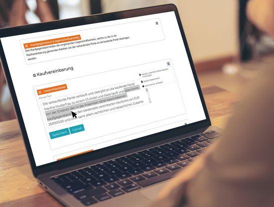 """Von der Verhandlung bis zur Unterschrift: Der """"Linde Smart Contract Maker"""" ist kein Vertragsgenerator, sondern ein mächtigeres Workflowtool, mit dem auch Vertragsverhandlungen und der Abschluss per E-Signatur möglich sind. (Foto: Linde Verlag/istock)"""