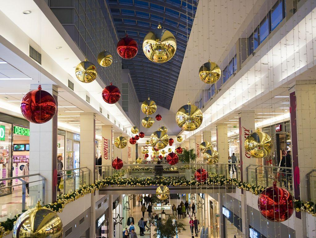 Weihnachten Kaufhaus