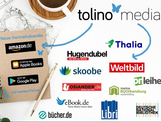 Tolino Media erweitert sein Vertriebsportfolio
