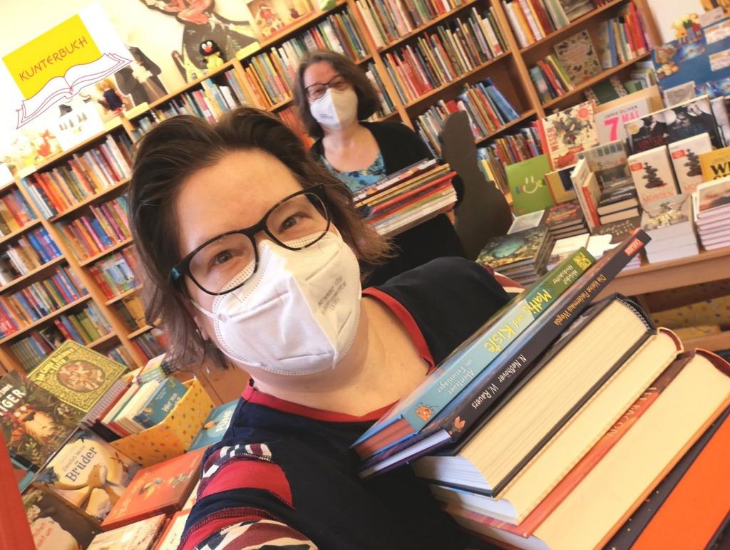 Die Buchhandlung Kunterbuch freut sich über die Wiedereröffnung in Österreich (Foto: Kunterbuch).