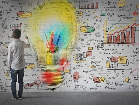 Skizzieren neuer Geschäftsideen