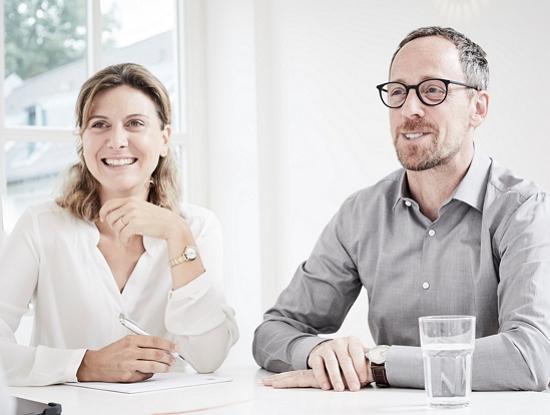 Nikola Ulrich und Markus Wilhelm