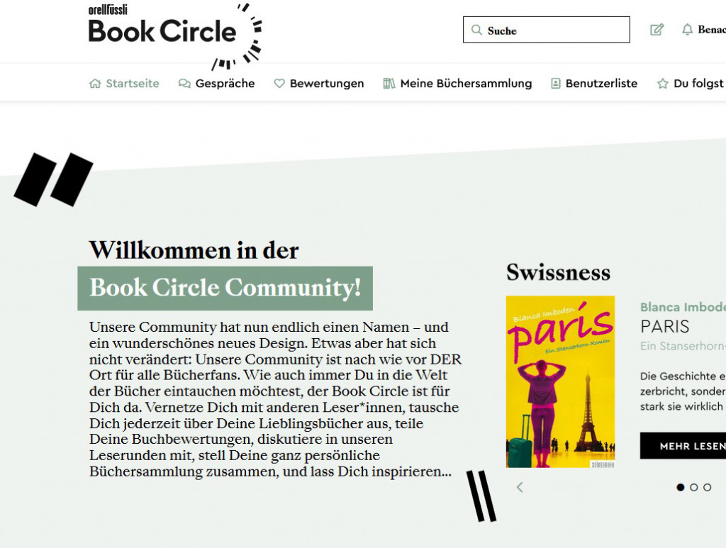 Book Circle (Foto: Orell Füssli)