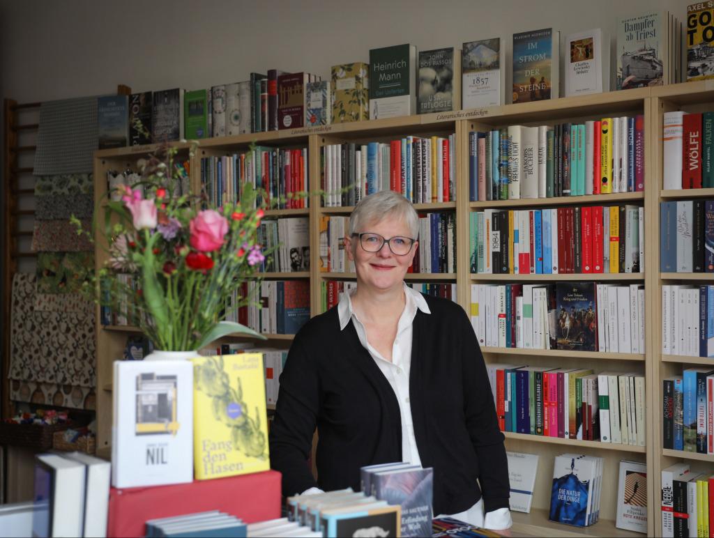 Petra Hofer_Petra von der Grätzlbuchhandlung (Foto: Nini Tschavoll)