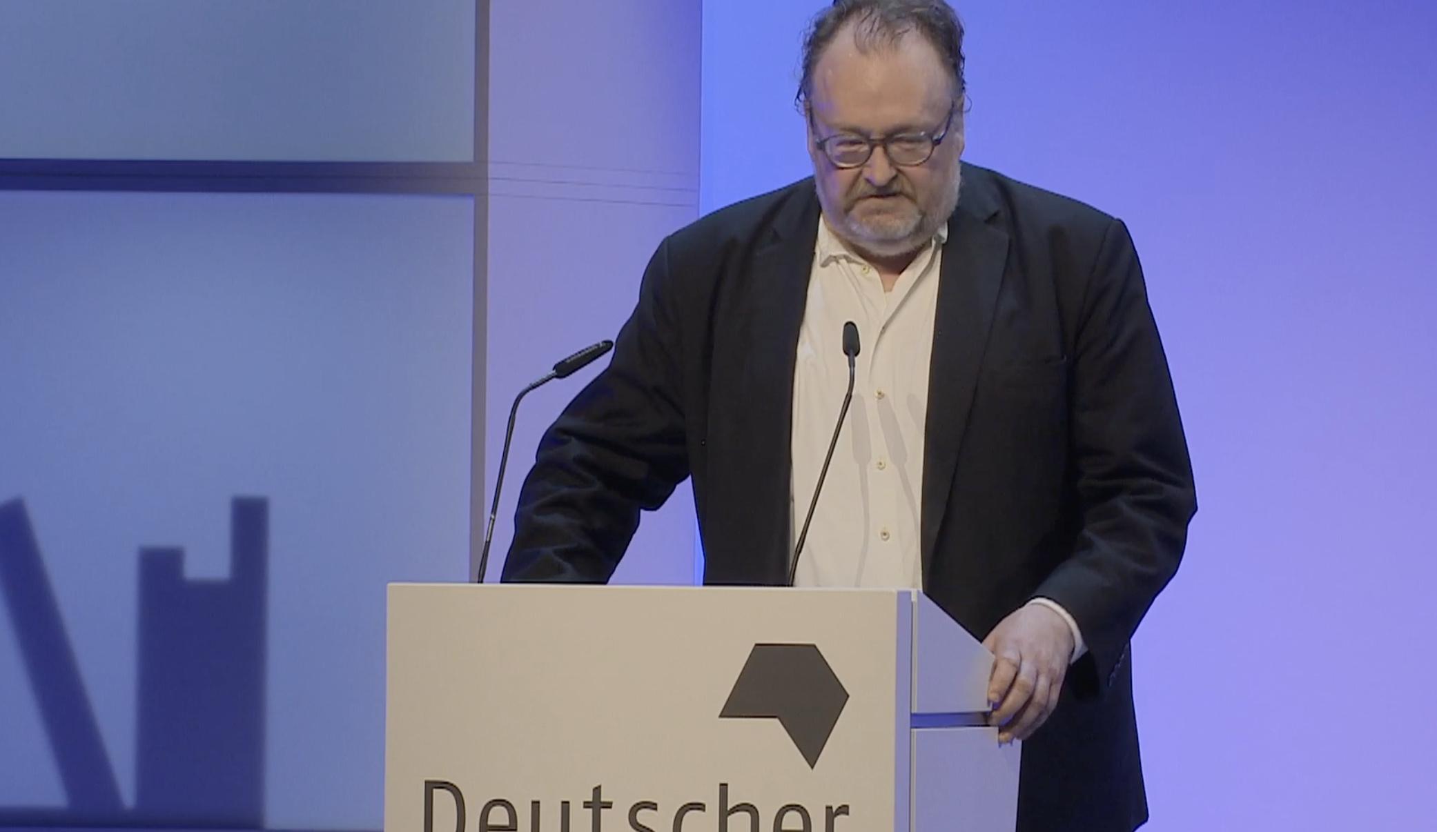 Deutscher Sachbuchpreis 2021 geht an Jürgen Kaube für »Hegels Welt« - buchreport