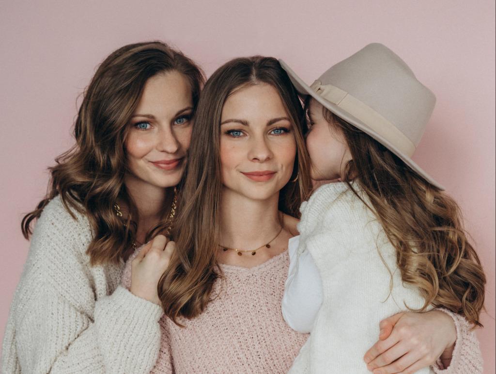Lara, Nina und Lea sind eine Familie (Foto: Sophie Biebl)