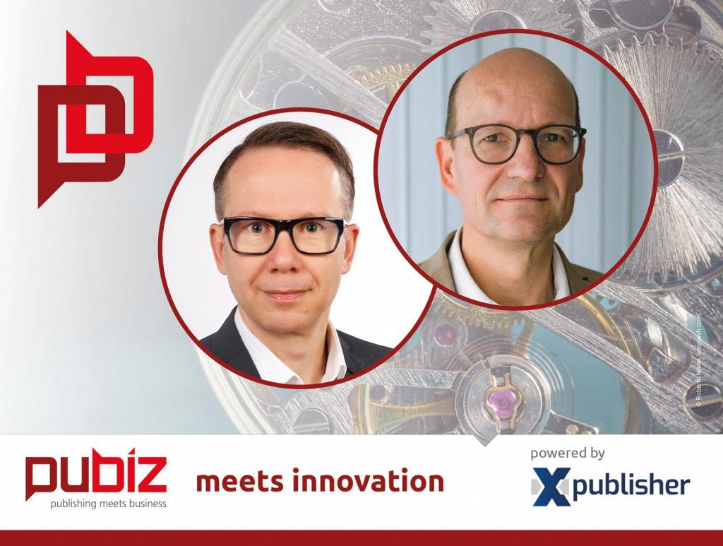 """In der Online-Gesprächsreihe """"Pubiz meets Innovation"""" trifft Ehrhardt F. Heinold am 2. Juli um 14 Uhr Olaf Meier zu einem halbstündigen Gespräch, s. www.pubiz.de/go/meier"""