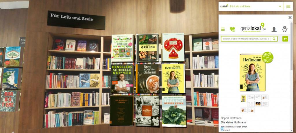 3D-Bücherwelt (Foto: genialokal.de)