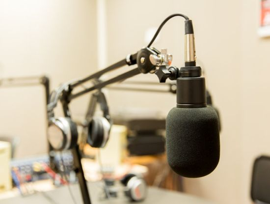 Aufnahme-Equipment für Audioproduktionen