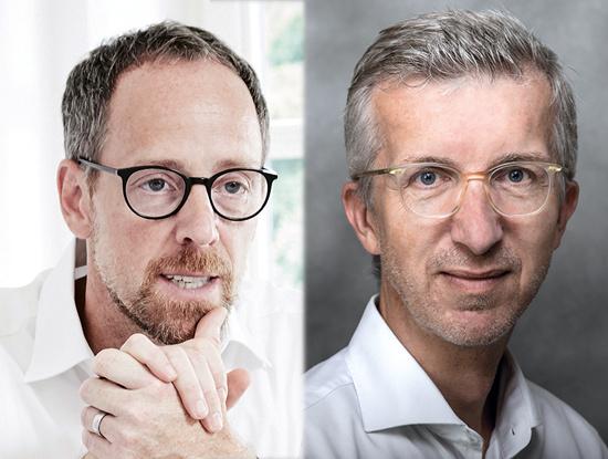 Markus Wilhelm und Olaf Deconinck von Publisher Consultants
