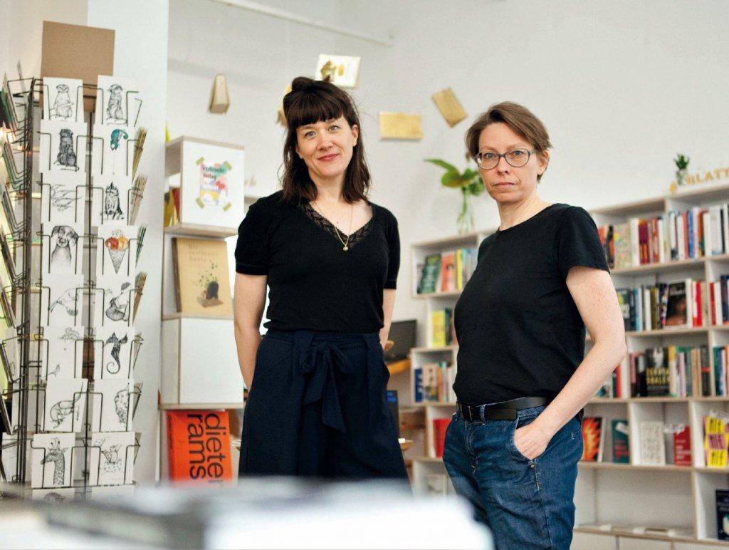 Marthe Orth und Nina Jades (Foto: Blattgold)