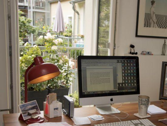 Schreibtisch von Michael Lüders