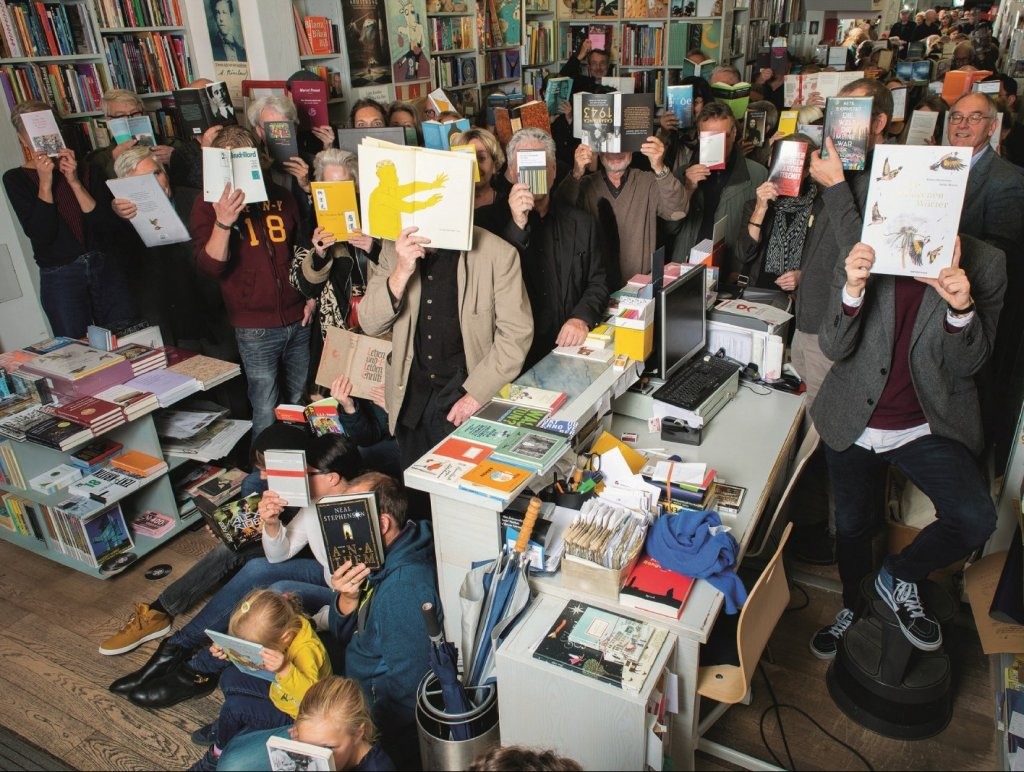 Breite Unterstützung erfährt die Düsseldorfer Buchhandlung Müller & Böhm von ihren Kunden. (Foto: privat)