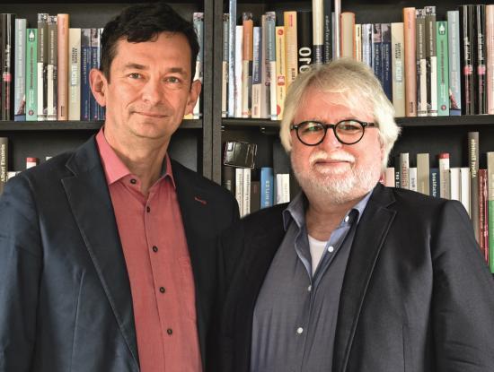 Dirk Palm (l.) und Ulrich Hopp (Foto: Jo_Jankowski)