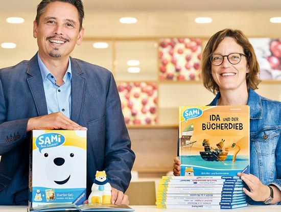 Anuschka Albertz und Yasin Ateş bringen bei Ravensburger eine breite Produktpalette für die junge Zielgruppe in den Handel. (Foto: Anja Köhler/Ravensburger)